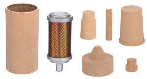 sintered filter elements