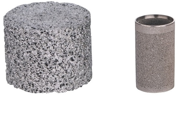 different sintered ss filters