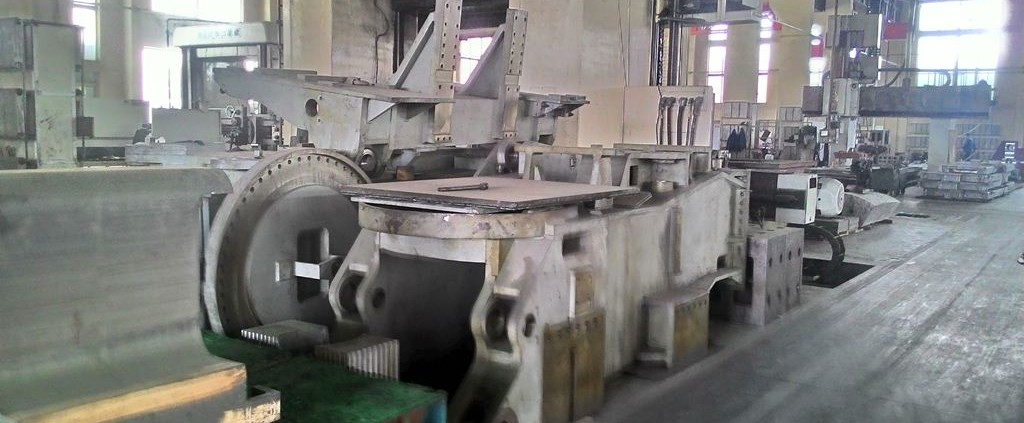 big scale stainless steel casting