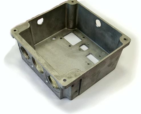 Radiator-box bottom