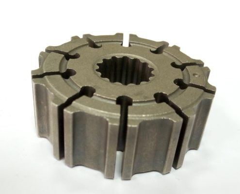 complicated sintered rotor