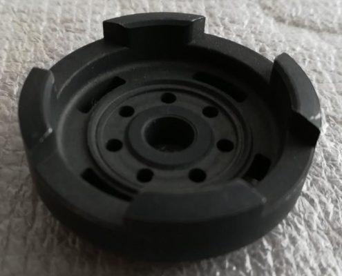 sintered cylinder ends