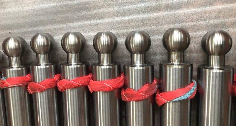 Хранение обработанных штоков для гидроцилиндров
