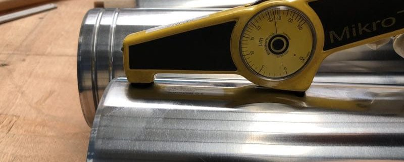 Контроль внутренних труб гидроцилиндров
