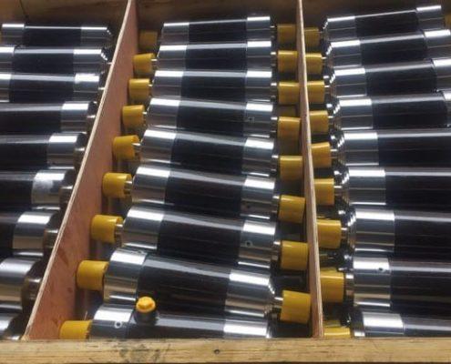 Маленькие телескопические цилиндры готовы к отправке