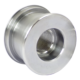 Большой поршень телескопического гидравлического цилиндра