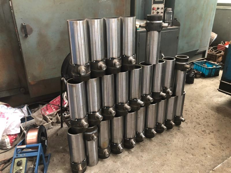 Hydraulic cylinders housings after manufacturing