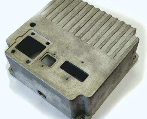 Radiator box