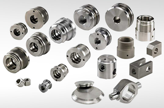 Production of parts for hydraulic cylinders according to