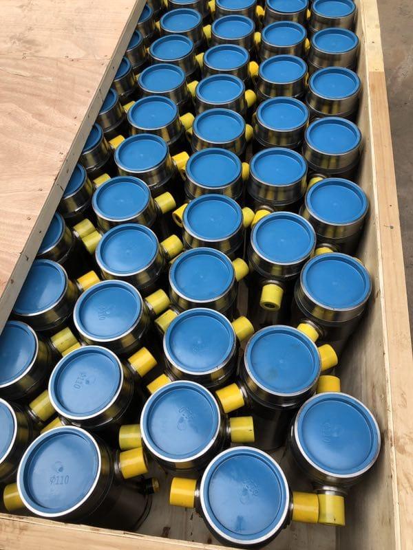 Application of hydraulic cylinders