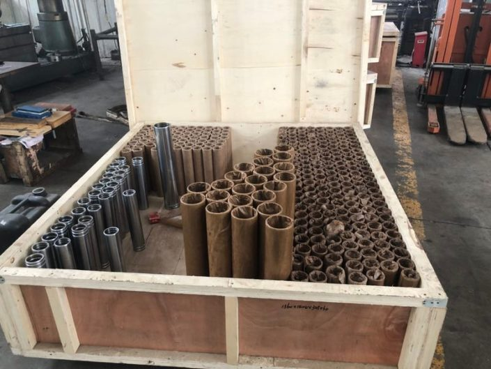 Tubes for telescopic hydraulic cilinders