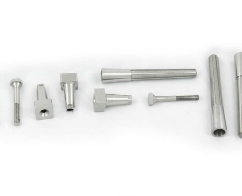 Titanium parts set