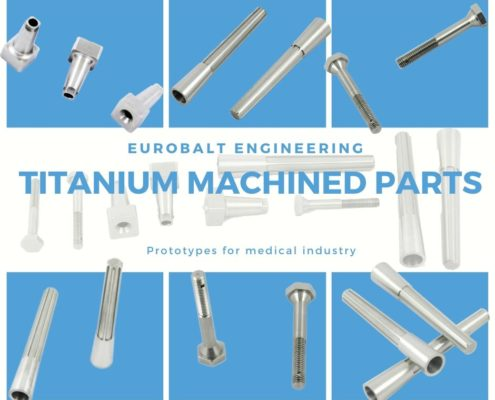 Tinanum machined parts