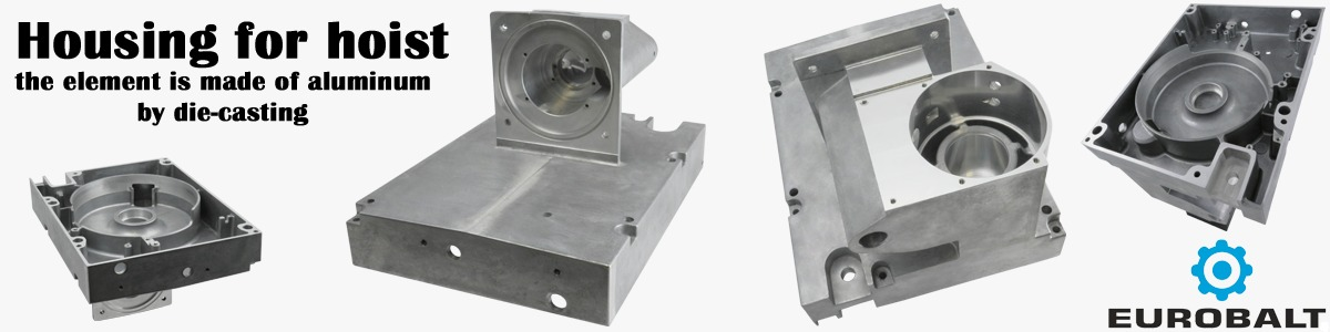 Aluminum housing for hoist