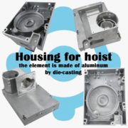 Housing for hoist